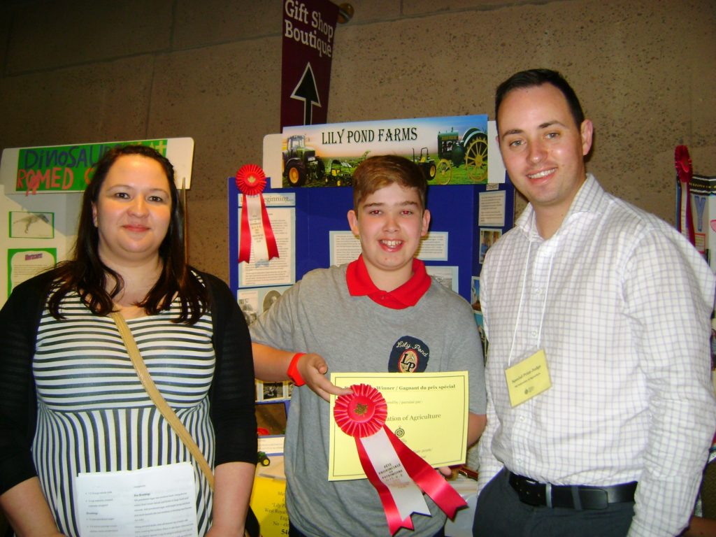 PEI Hertiage Fair Winner 2016
